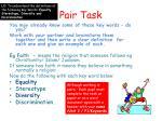 pair task