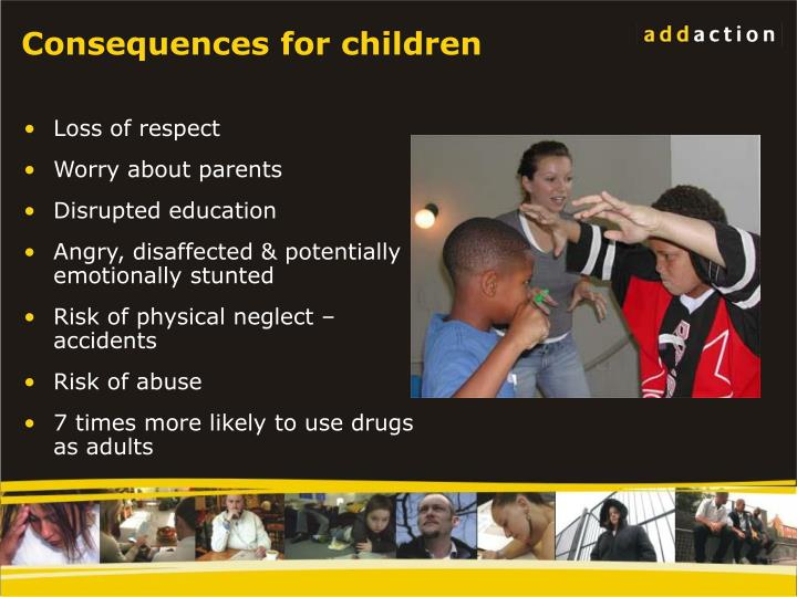 Consequences for children