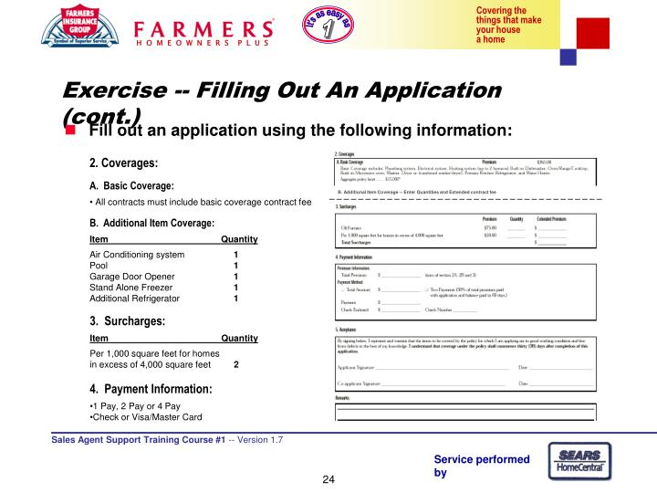 B. Additional Item Coverage -- Enter Quantities and Extended contract fee