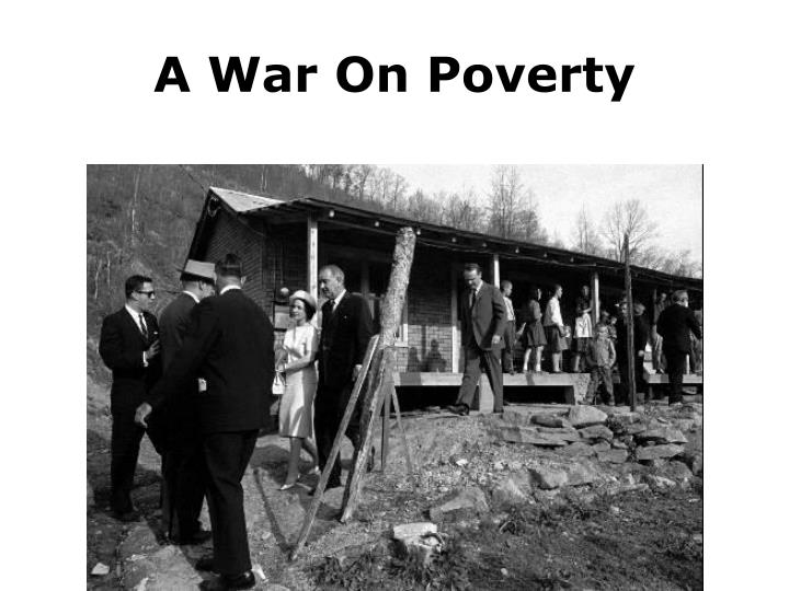 A War On Poverty