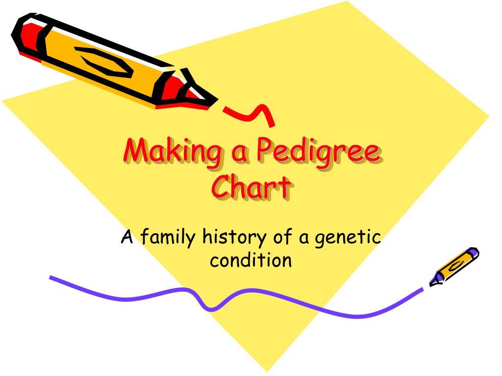 Ppt Making A Pedigree Chart Powerpoint Presentation Id5460402