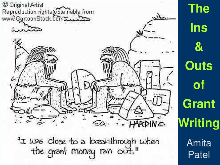 the ins outs of grant writing n.