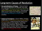 long term causes of revolution1