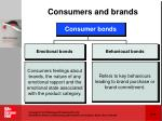 consumers and brands
