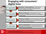 engaging with consumers digital lives