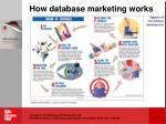how database marketing works