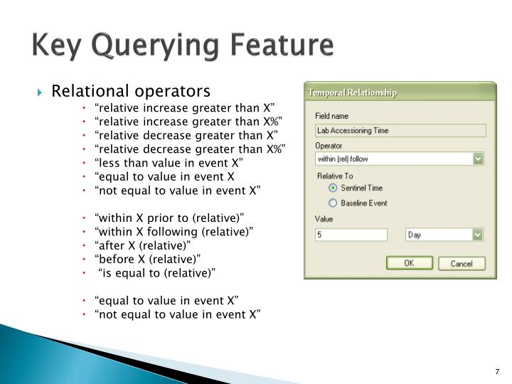 Key Querying Feature
