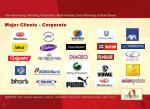 major clients corporate