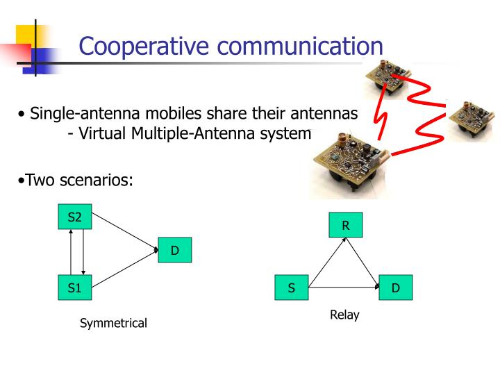 Cooperative communication