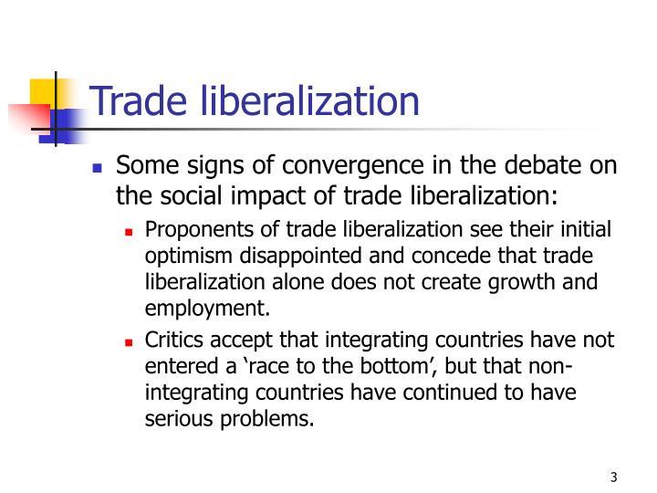 benefits of trade liberalization