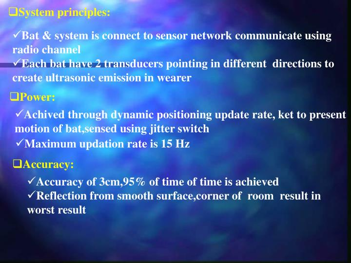 System principles: