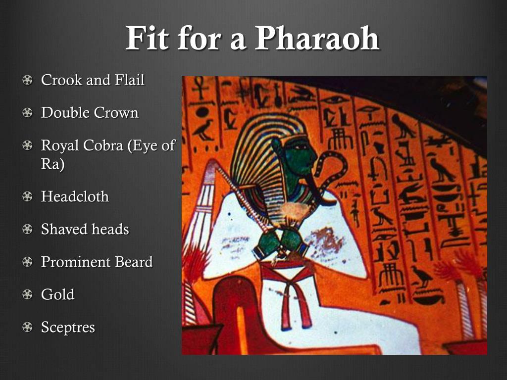 how to make a pharaoh