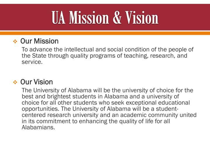 UA Mission &