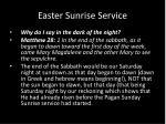 easter sunrise service5