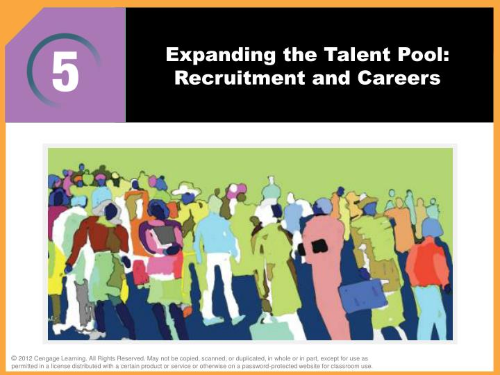 expanding the talent pool recruitment and careers n.