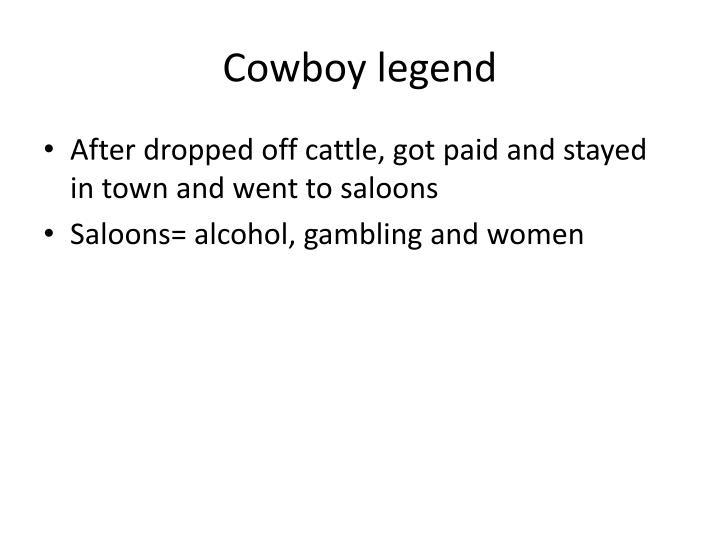 Cowboy legend