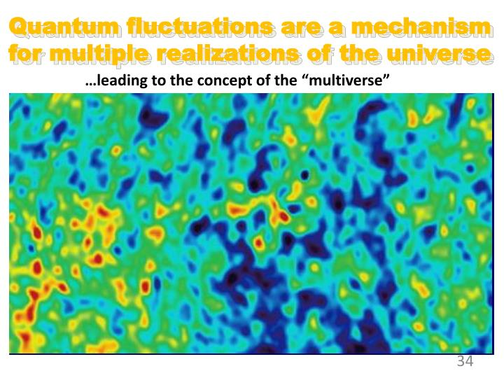 Quantum fluctuations are a mechanism for multiple realizations of the universe