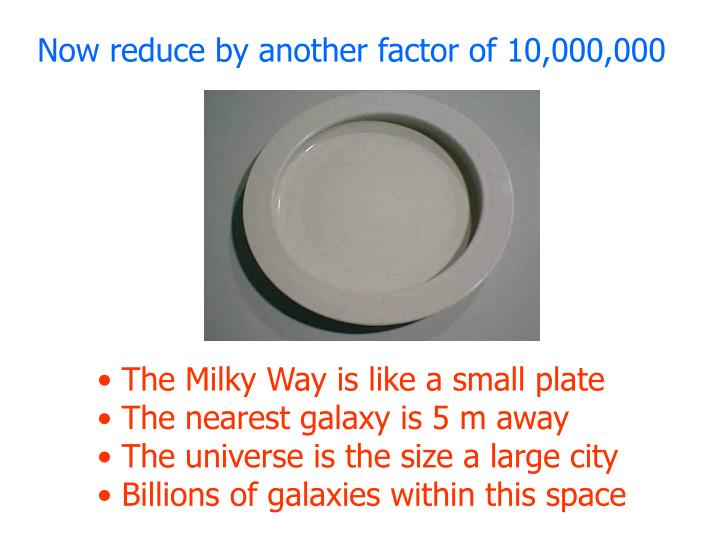 Now reduce by another factor of 10,000,000