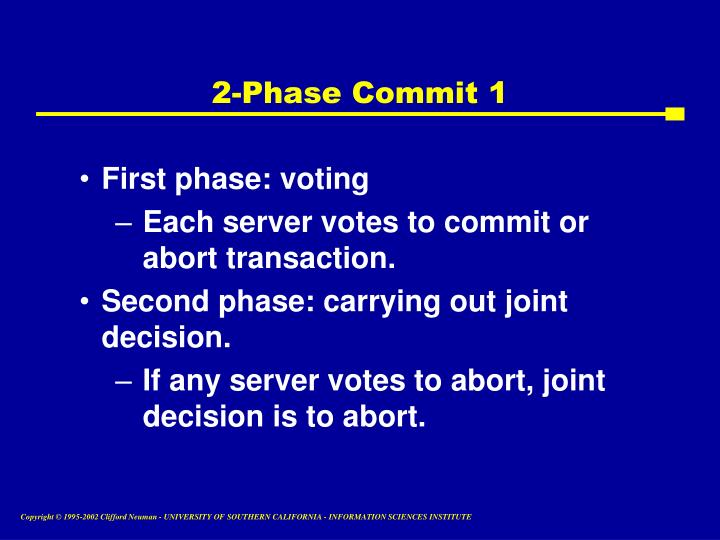 2-Phase Commit 1