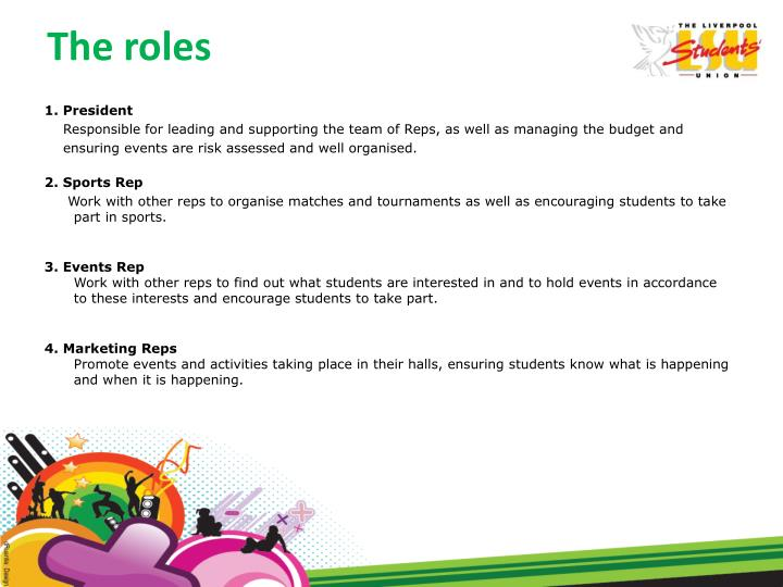The roles