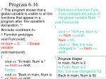 program 6 16