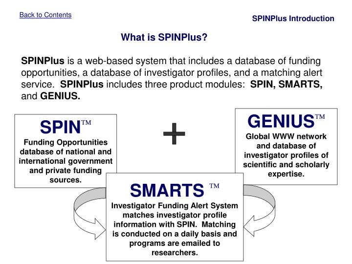 SPINPlus Introduction