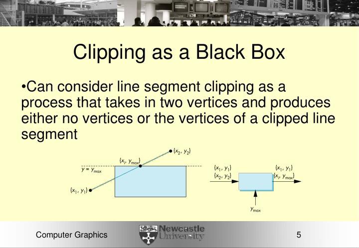 Clipping as a Black Box