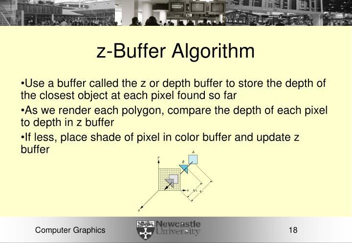 z-Buffer Algorithm