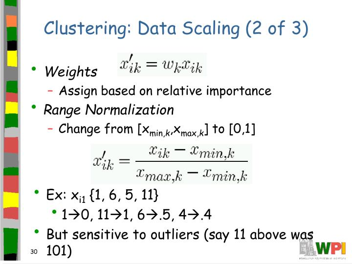 Clustering: Data Scaling (2 of 3)