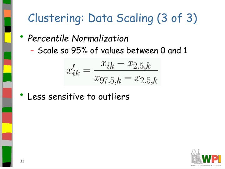 Clustering: Data Scaling (3 of 3)