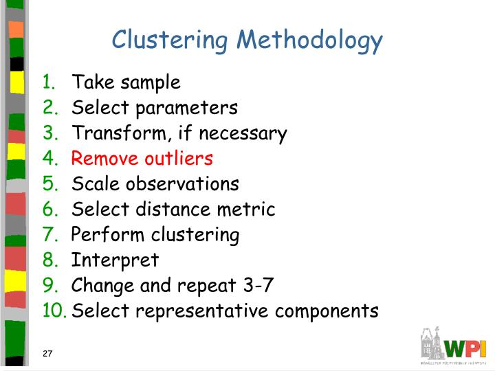 Clustering Methodology