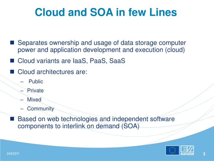 Cloud and soa in few lines