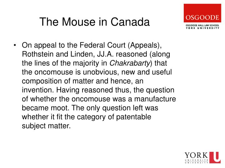 The Mouse in Canada