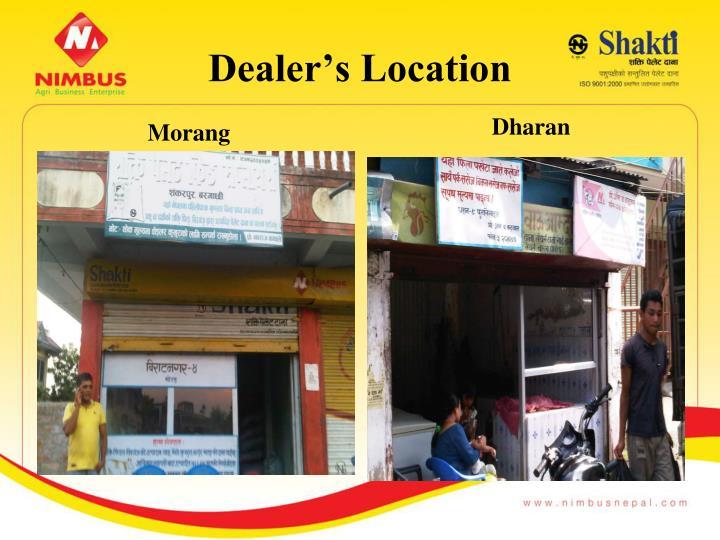 Dealer's Location