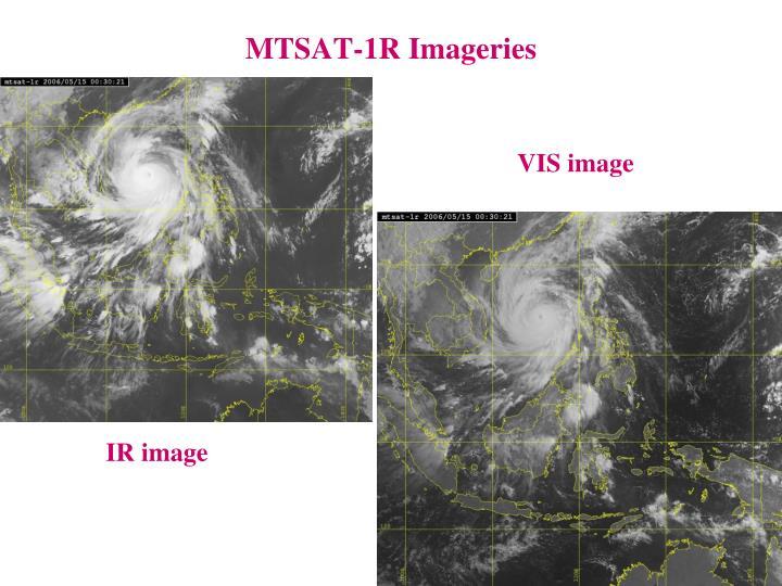 MTSAT-1R Imageries