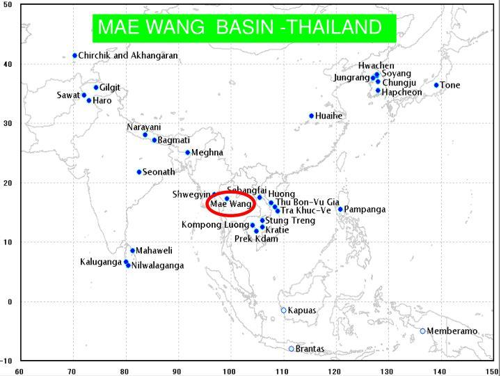 MAE WANG  BASIN -THAILAND