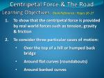 centripetal force the road1