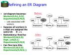 refining an er diagram