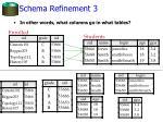 schema refinement 3