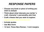 response papers3