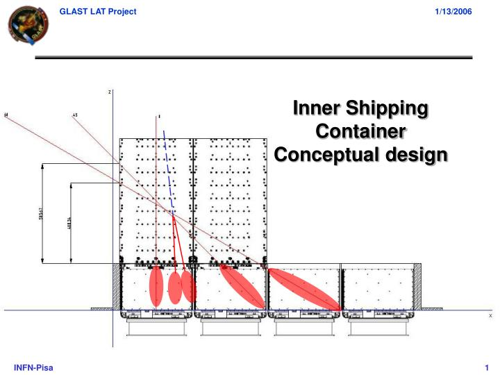 inner shipping container conceptual design