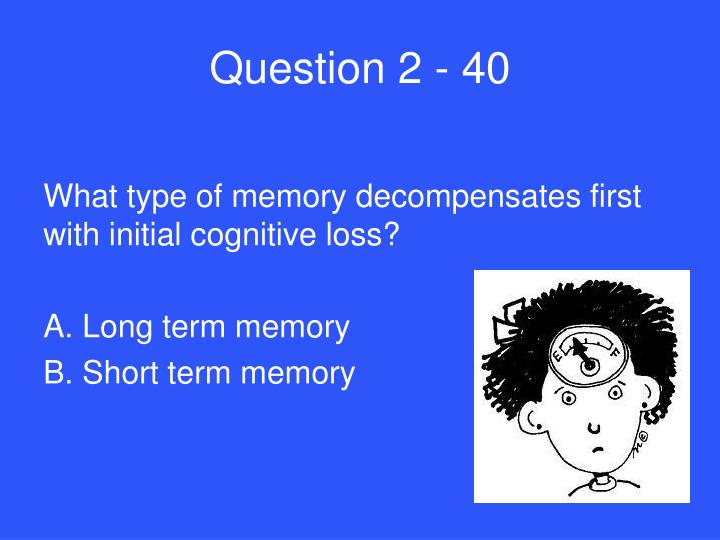 Question 2 - 40