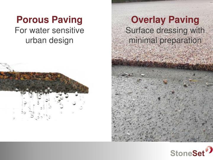 Porous Paving