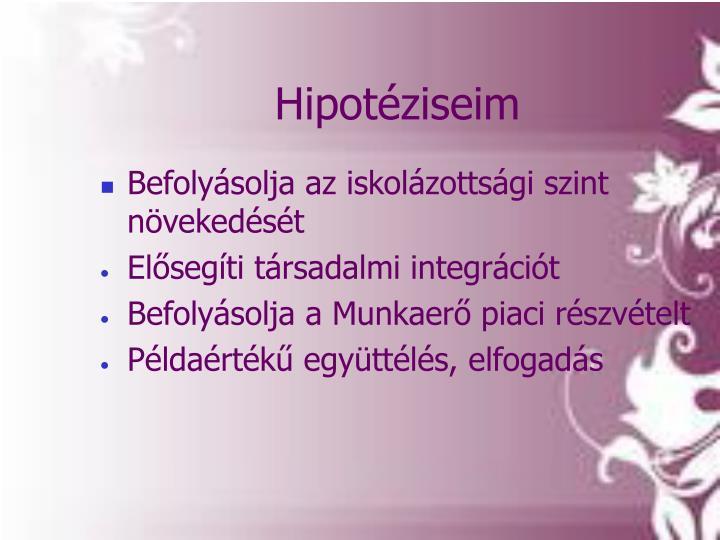Hipotéziseim