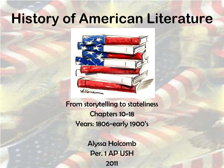how historical events impacted american literature Powerpoint slideshow about 'major historical events that influenced american literature' - akira american literature - book i table of contents introduction brief outline of american literature chapter i colonial period chapter ii revolutionary period benjamin franklin philip.