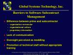 barriers to software subcontract management