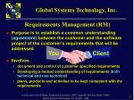requirements management rm