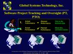 software project tracking and oversight pt pto