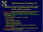 software project tracking and oversight pto spto activities1