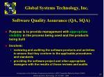 software quality assurance qa sqa